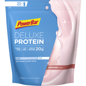 PowerBar Deluxe Bolsa de Proteína 500g, Strawberry
